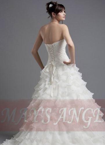 Robe Pour Nu Être Mariée De Belle Dos E2HDI9
