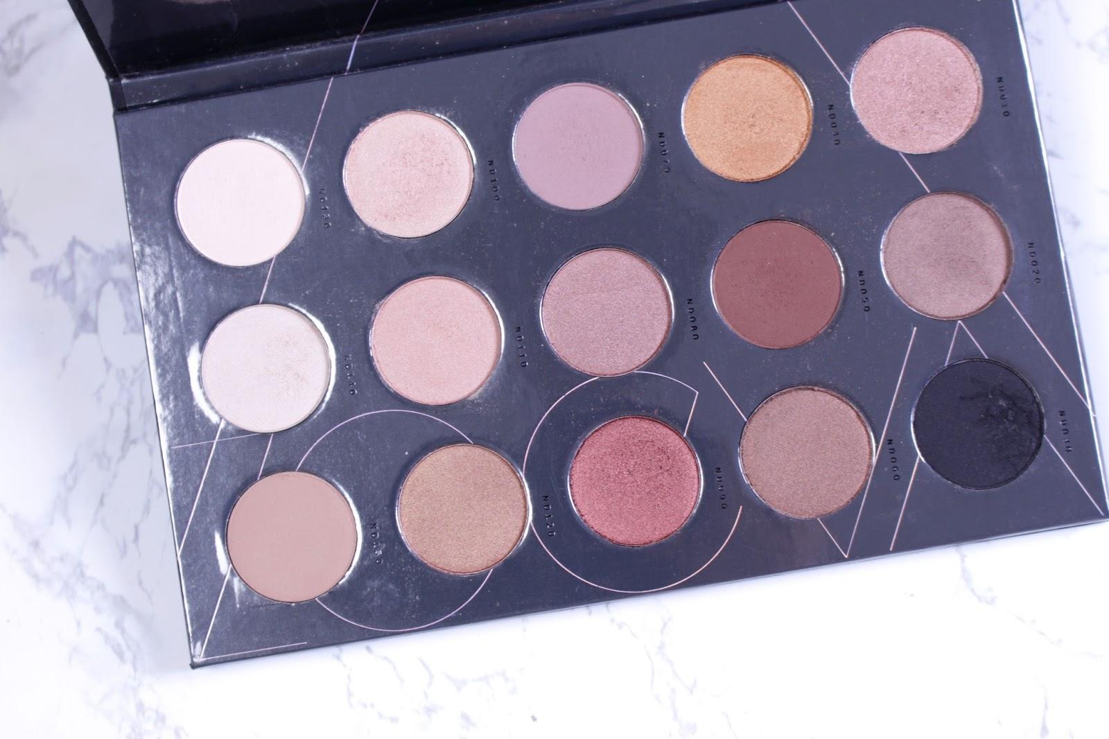 Zoeva Nude Spectrum Palette