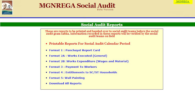 Social Audit Reports