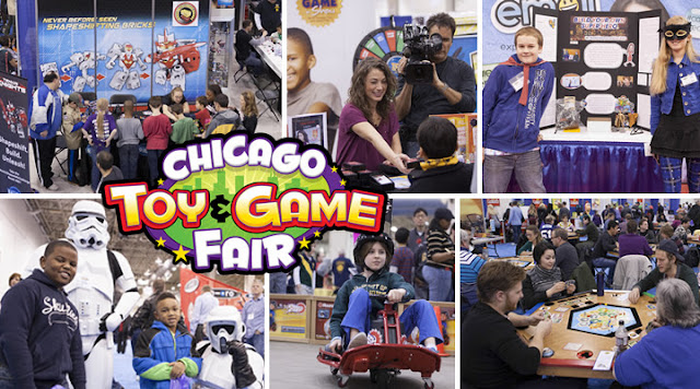 Chicago Toy and Game Fair Tickets, 2016.