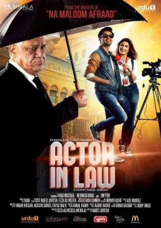 Actor In Law 2016 WEBRip 480p Urdu Pakistani Movie 350MB