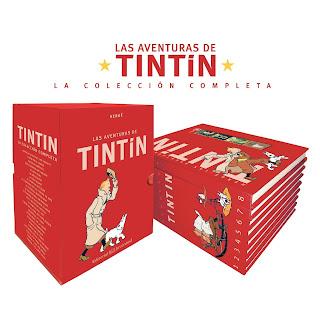 Las aventuras de Tintín Colección Completa 1