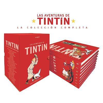 Las aventuras de TINTIN - La colección completa