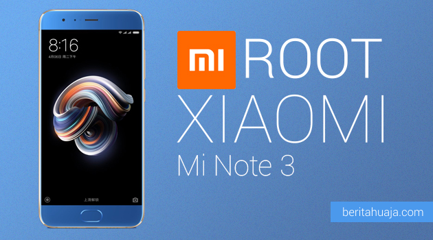 How To Root Xiaomi Mi Note 3 And Install TWRP Recovery