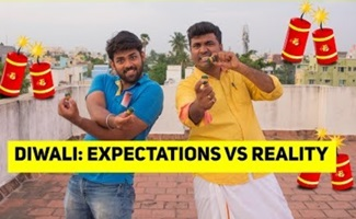 Diwalii: Expectations Vs Reality| Tamil Comedy Video|Kichdy