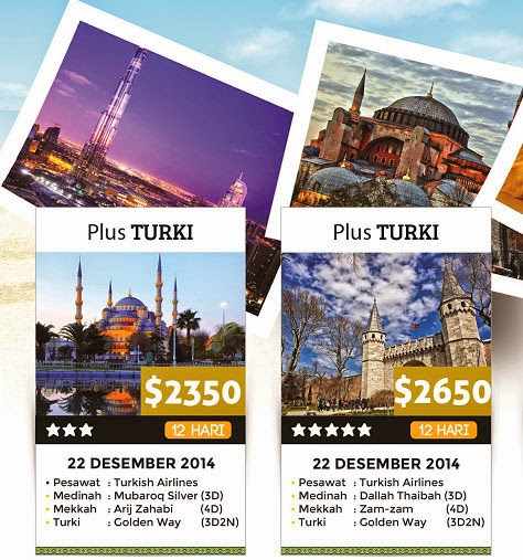 Paket Umroh Plus Turki by Travel Baitussalam