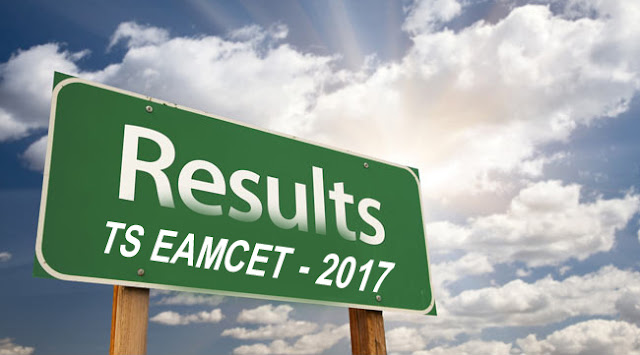 TS EAMCET Exam results and Rank Card Download