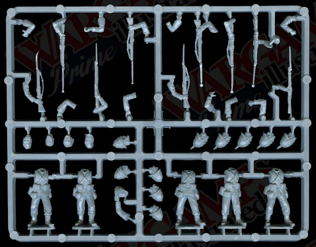 Perry Miniatures: Plastic Zulu War British Infantry Sprues