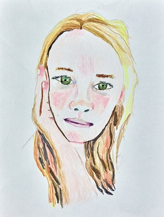 """Winner Young Archie 2018 - """"The dreamer"""" by Harvey Heazlewood - category: 5-8 year olds 