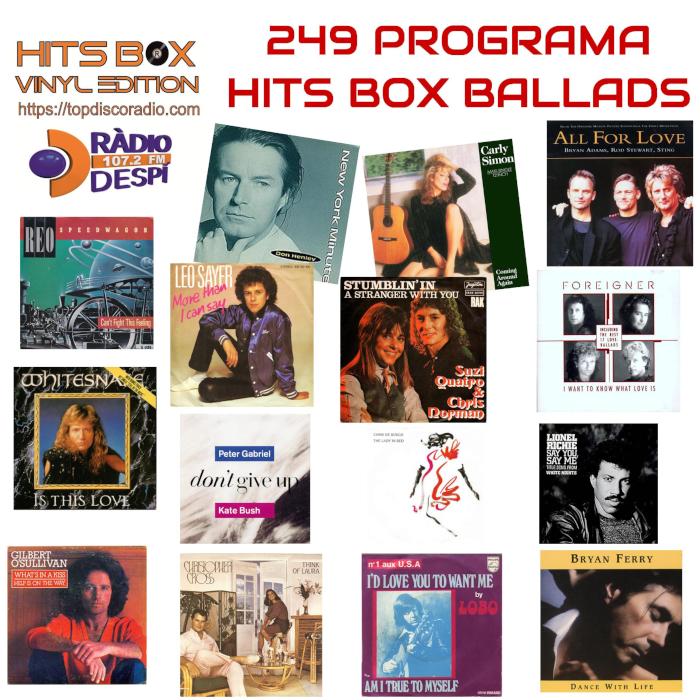 249 Programa Hits Box Ballads