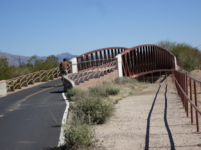Rillito River Park Bike trail