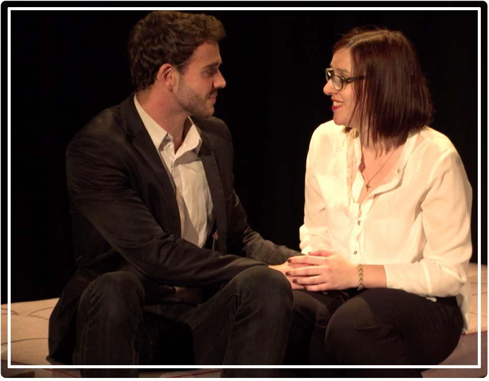 Coralie Constantin et Nicolas Mazzocco dans Trash thérapie
