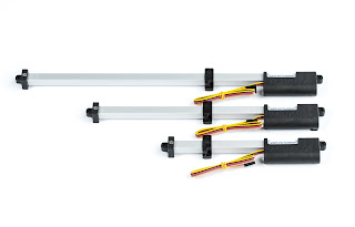 micro linear track actuators