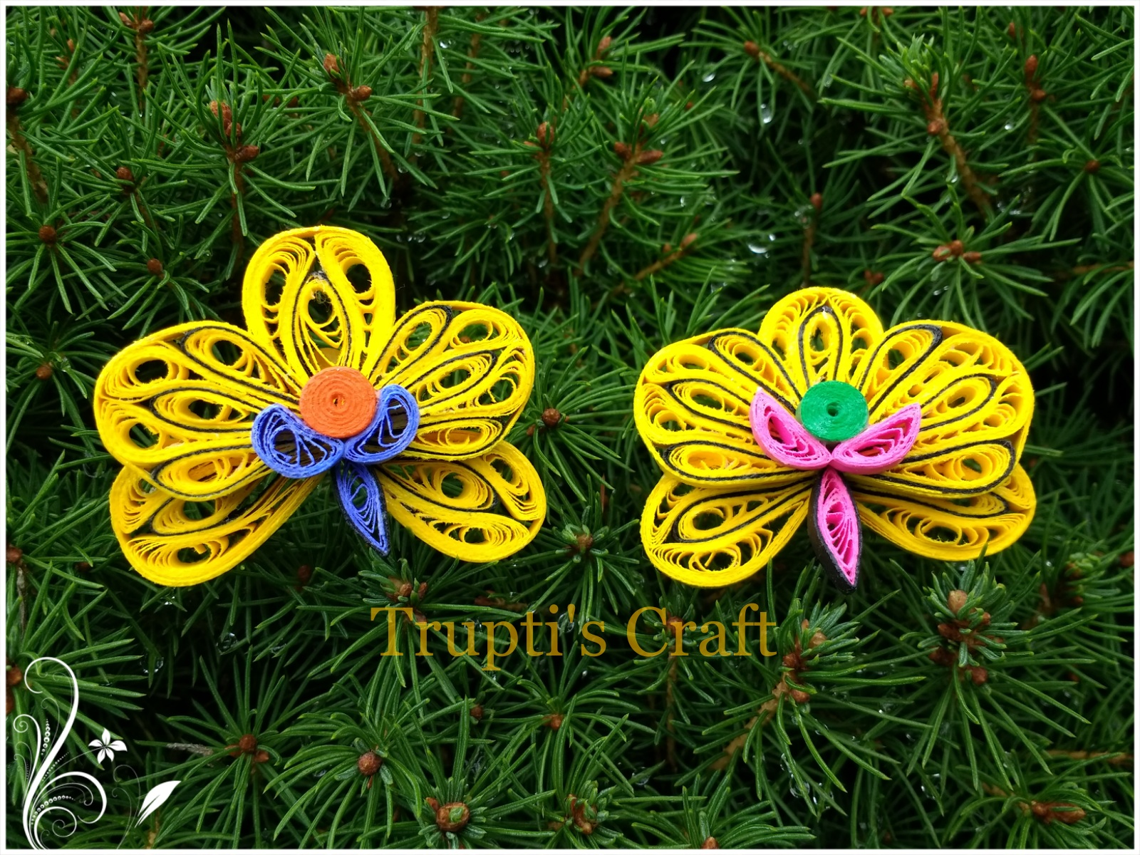 Trupti\'s Craft: Day 8 of 100 days of Paper Quilling Challenge. Topic ...