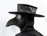 http://tombanwell.blogspot.com/2012/03/making-plague-doctors-hat.html