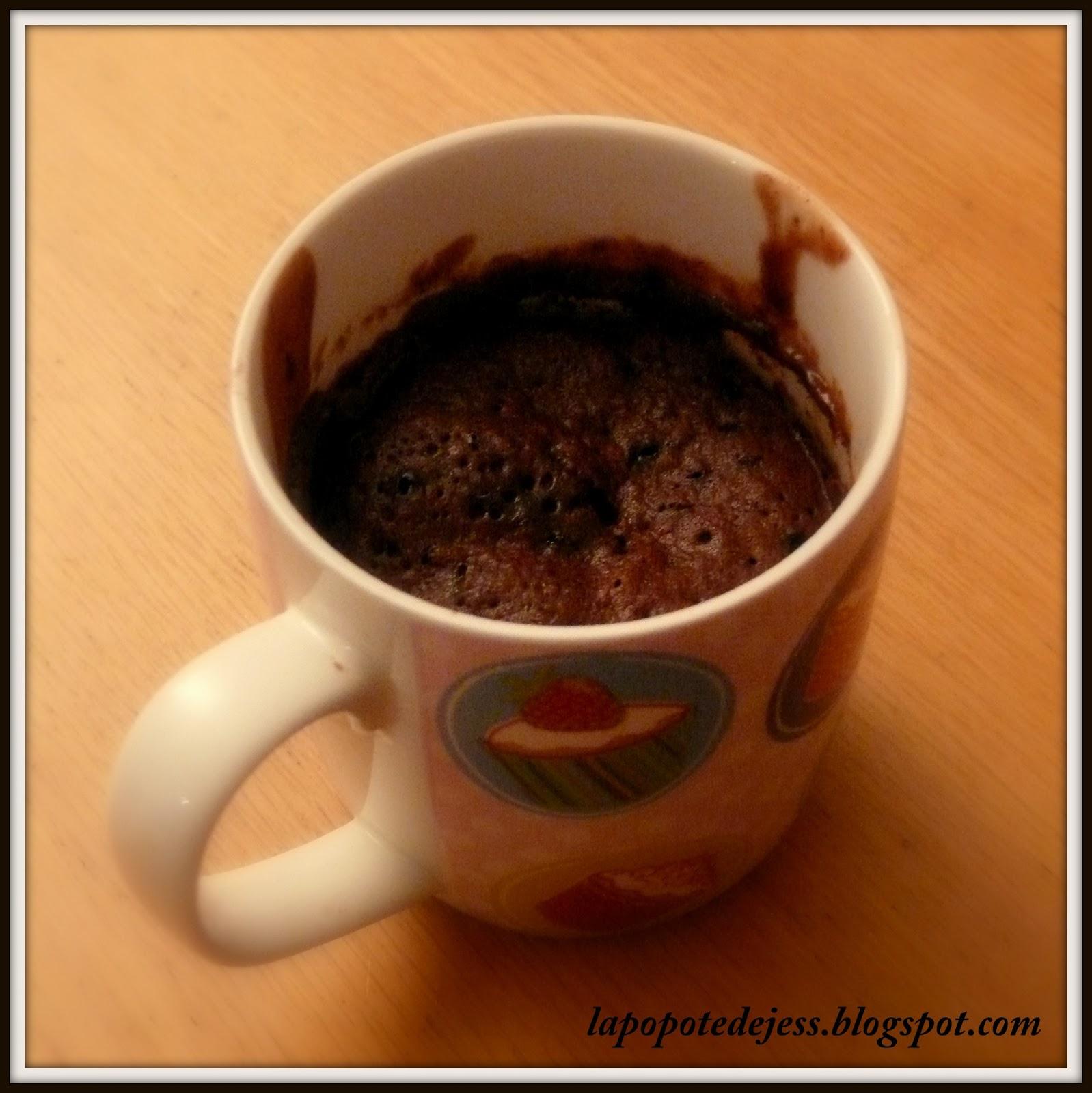 La Popote De Jess Mugcake Au Chocolat Sans Oeuf