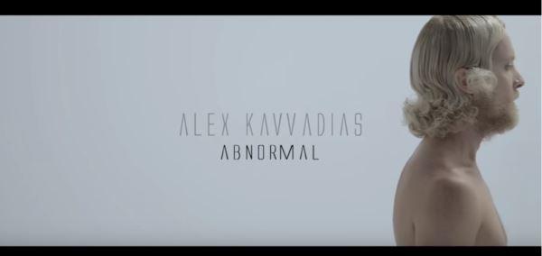 """ΑΛΕΞ ΚΑΒΒΑΔΙΑΣ: Video για το νέο τραγούδι """"Abnormal"""""""