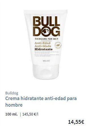 Crema anti-edad para hombre Bulldog