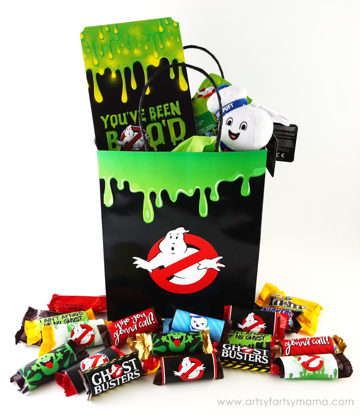 Ghostbusters Halloween BOO Bag for friends and neighbors! #BOOItForward