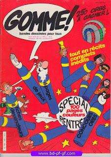 Gomme!, hors série numéro 1, 1982, 100 pages couleurs!