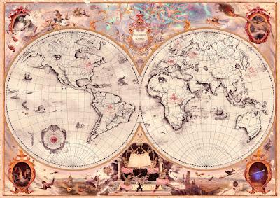 Mappa delle Scuole di Magia nel Mondo