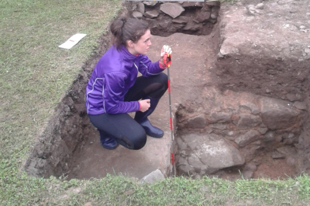 Remains of 14th century castle discovered at Scotland's House of Dun