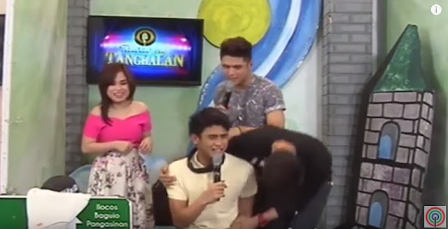 Hashtag Paulo Thought That He's Talking To The Real Angel Locsin. But When He Took Off His Blindfold, He Was Surprised By What He Saw!