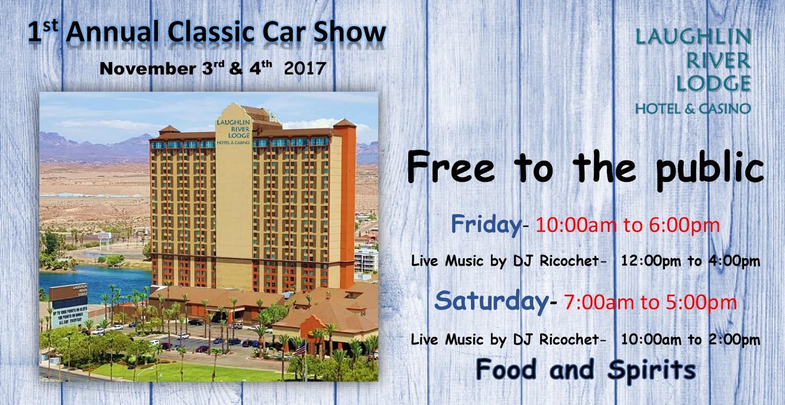 Laughlin Buzz Laughlin River Lodge St Annual Classic Car Show - Laughlin car show