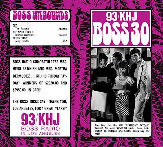 KHJ Boss 30 No. 201 - Scotty Brink and Robert W. Morgan