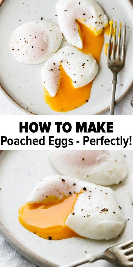 Poached Eggs Recipe