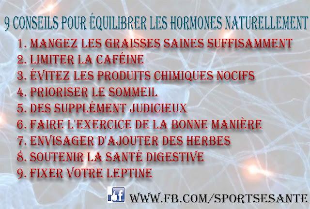9 Conseils pour équilibrer les hormones naturellement