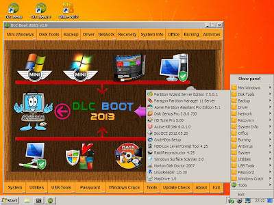 DLC BOOT 2013 V 1 0 MINI WINDOWS XP & 7 ISO - Ruang Software
