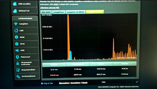 قياس سرعة الأنترنت والرفع والتحميل وسرعة البنج بدون برامج