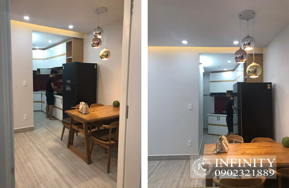 Cho thuê căn hộ Everrich Infinity Quận 5 tầng cao full nội thất - hình 5
