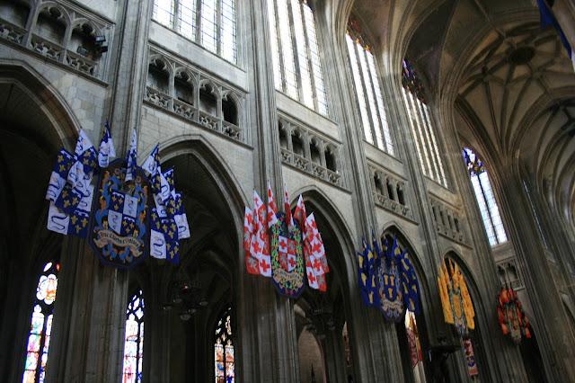 dans la grande cathédrale d'Orléans (Orleans, France)