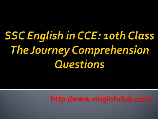 CCE-10th-Class-The-Journey-Comprehension-Questions