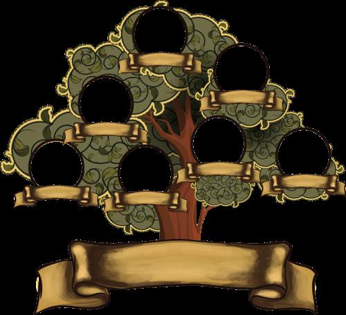 Родинне Дерево Шаблон Psd - neonshopper