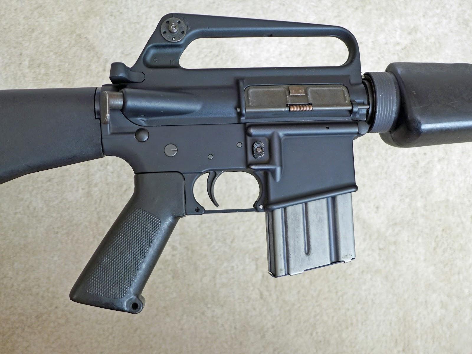TINCANBANDIT's Gunsmithing: Retro M16A1 build