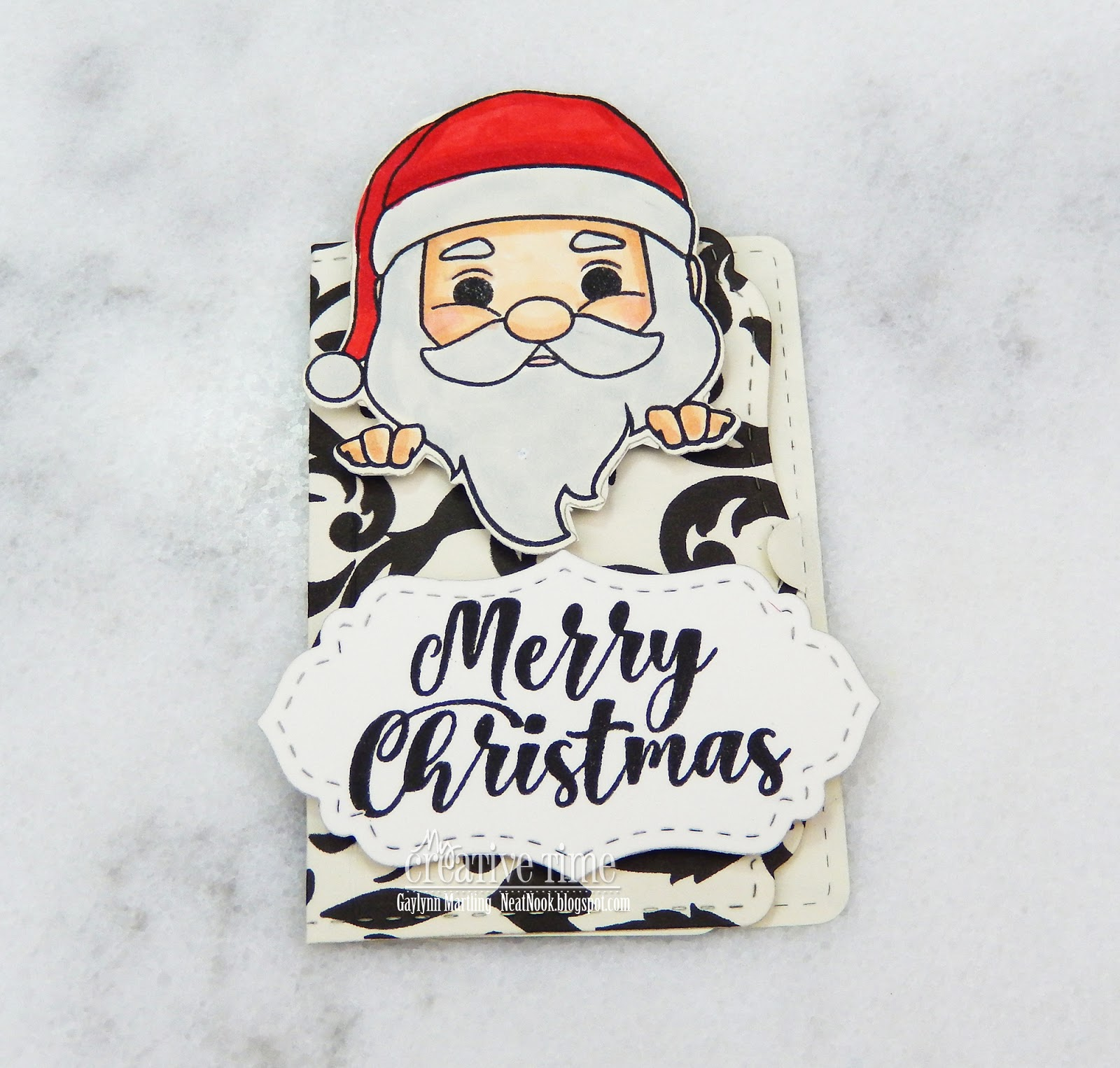 Neat Nook Creations: Santa Gift Card Holder ~ Day 1 Sneak Peeks MCT ...
