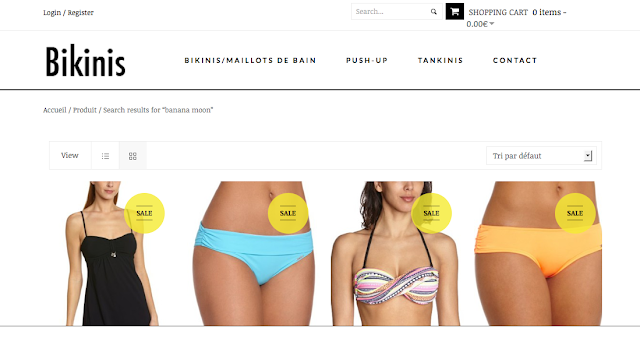 Consultant SEO - marketplace ecommerce, boutique maillots de bain