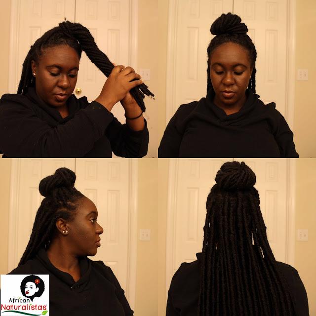 african naturalistas, black hair, protective styles, crochet braids, faux locs, crochet locs, crochet faux locs, berry dakara, team natural