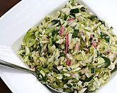 Alice Waters' Coleslaw