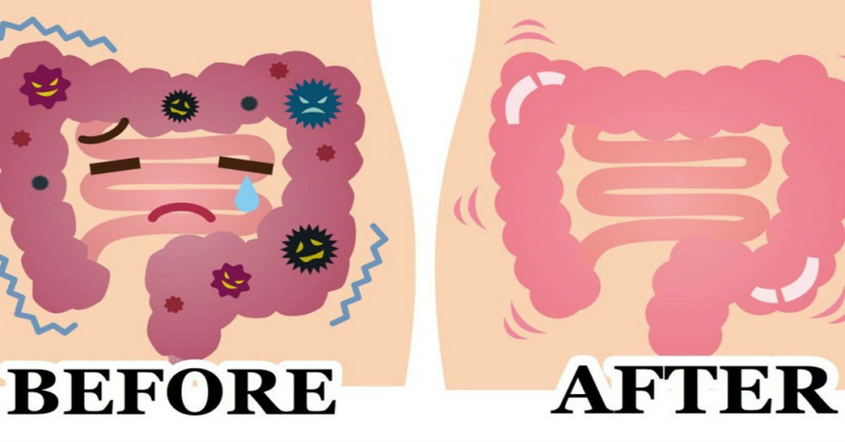 Deflate Your Stomach And Cleanse The Colon
