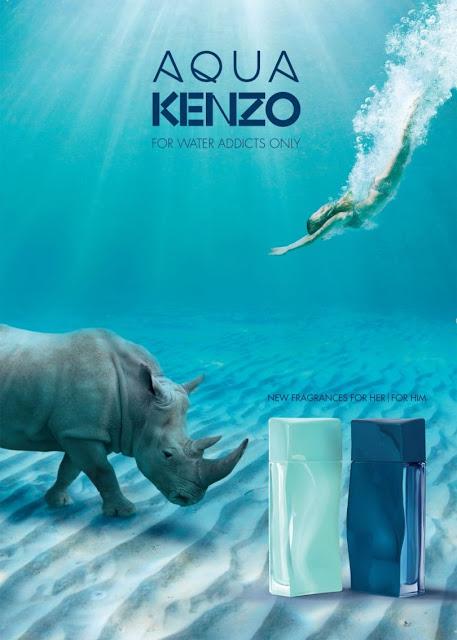Reklama perfum Aqua Kenzo