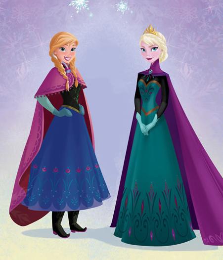 jai un tissu rose pour la cape et alinor ma dj fait remarquer que la couleur ctait violet - Robe Anna Reine Des Neiges