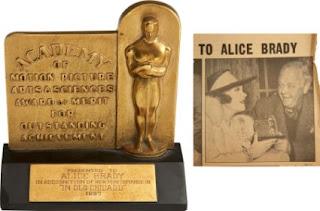 Alice Brady Academy Award