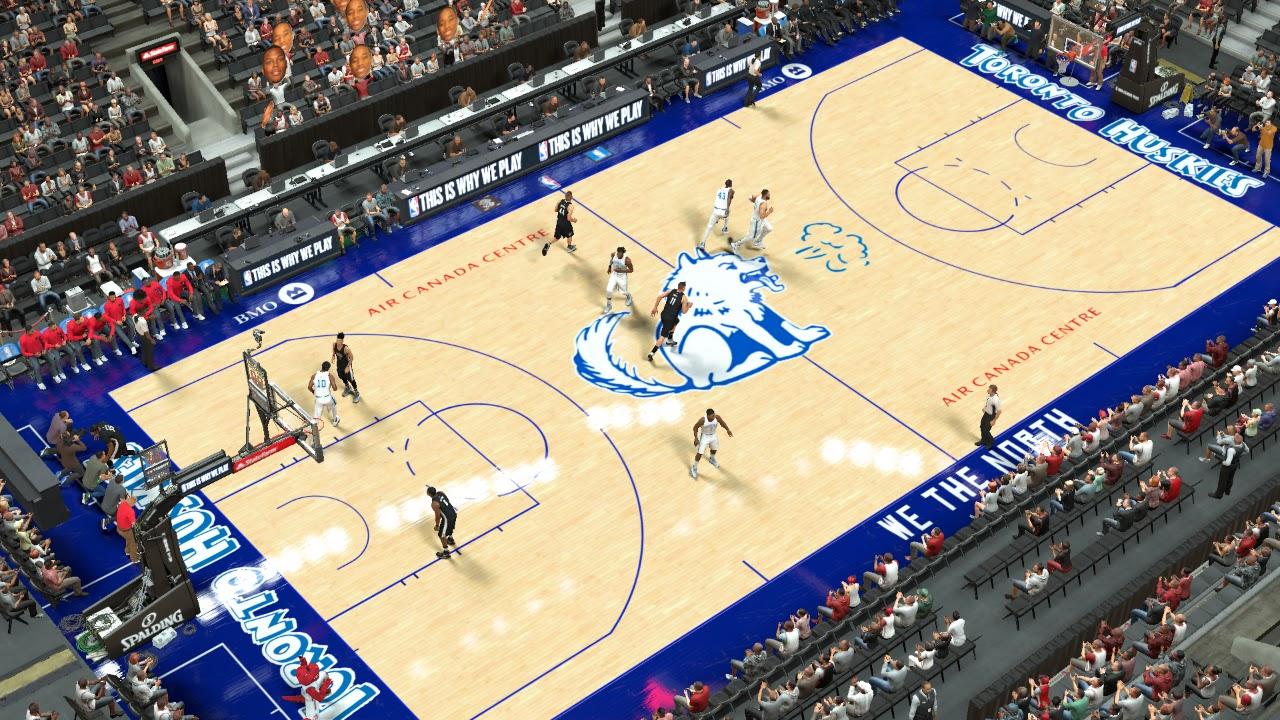 2K Mods by Iron Knight: Toronto Huskies Court for Toronto ...