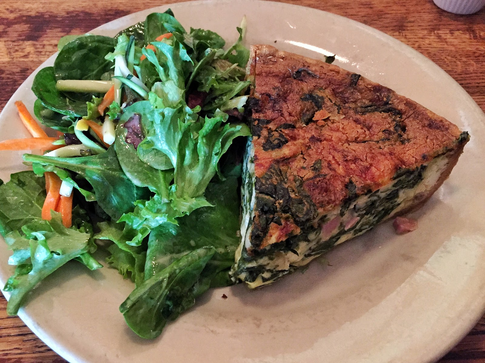 brunch quiche ham spinach swiss 39 rue de jean downtown charleston upper king food