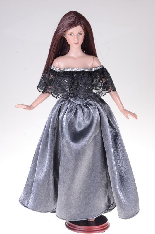 Suknia Kopciuszka dla lalki Tonner.