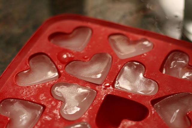 קרח, לבבות, אהבה, צילום מוצרים, אורנה לבנה.